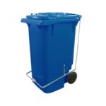 Carrinho Coletor de Lixo com Pedal 240L