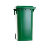 Carrinho Coletor de Lixo Sem Pedal de 240 Litros