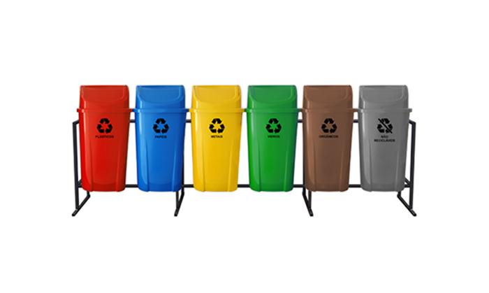 Lixeiras Recicláveis