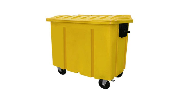 O uso relevante dos containers de lixo para auxiliar o descarte correto