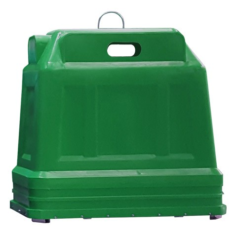 pev ponto de entrega voluntaria ecoponto para coleta seletiva 2500 litros