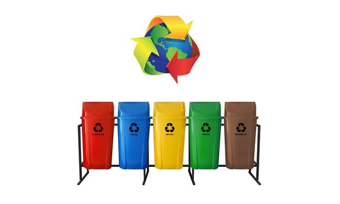 A importância das lixeiras recicláveis para a coleta seletiva