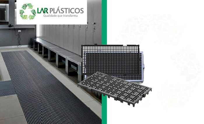 Piso de Plástico