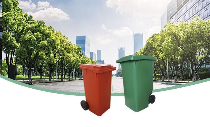 Carrinhos Coletores de Lixo