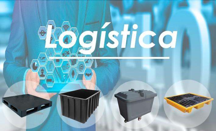 Caixas plásticas e outros produtos para se utilizar na logistica da sua empresa